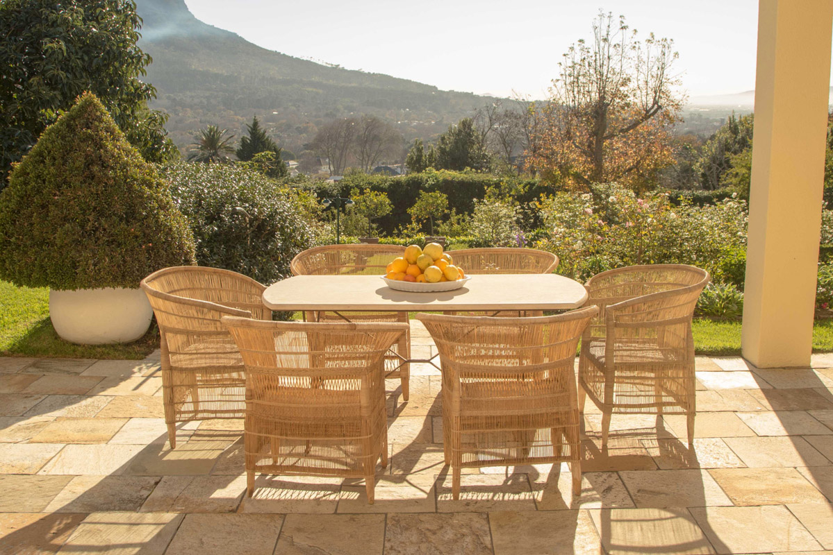 Why Rattan Cane Garden Furniture is Sustainable
